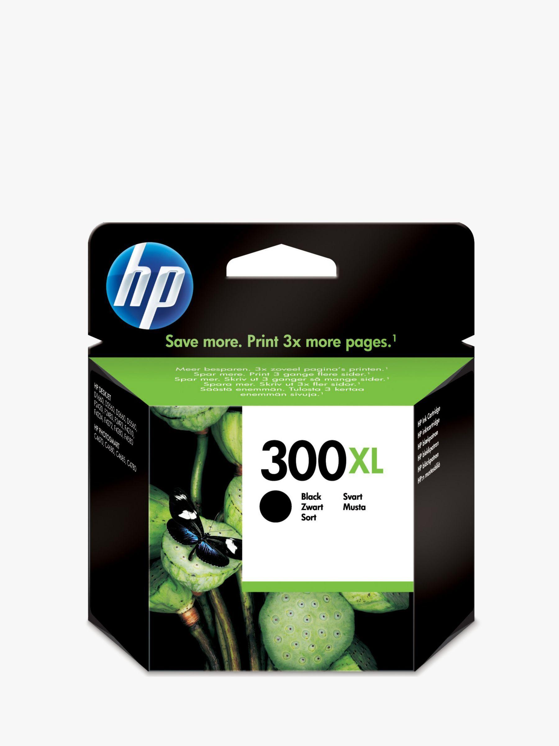 Hp 300xl Ink Cartridge Black 300 Ink Cartridge Tri Colour