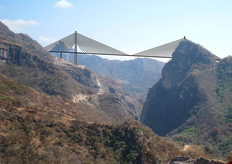 Baluarte Bridge, Mexico