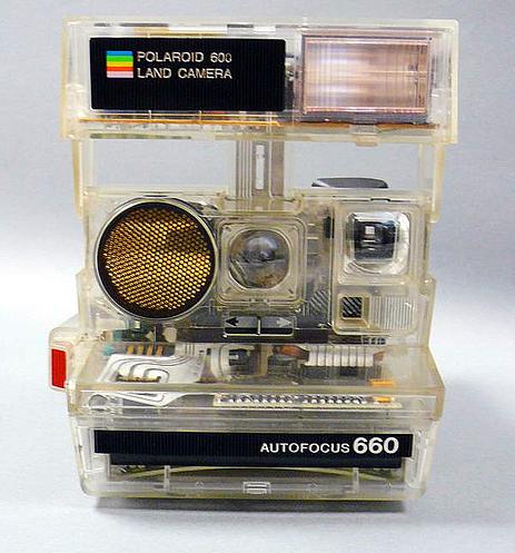 Transparent Polaroid