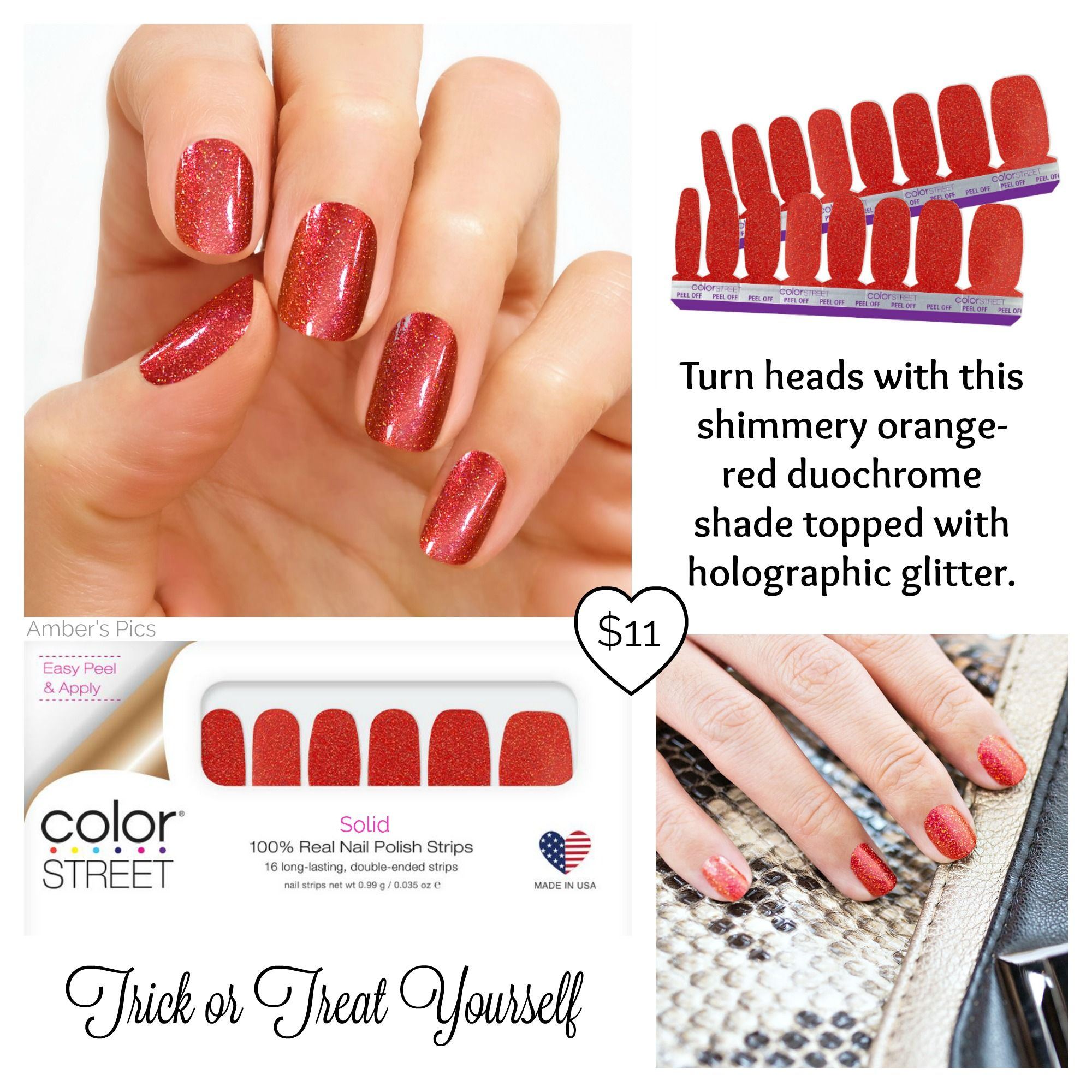 Trick or Treat Yourself | Color street nails, Halloween ...