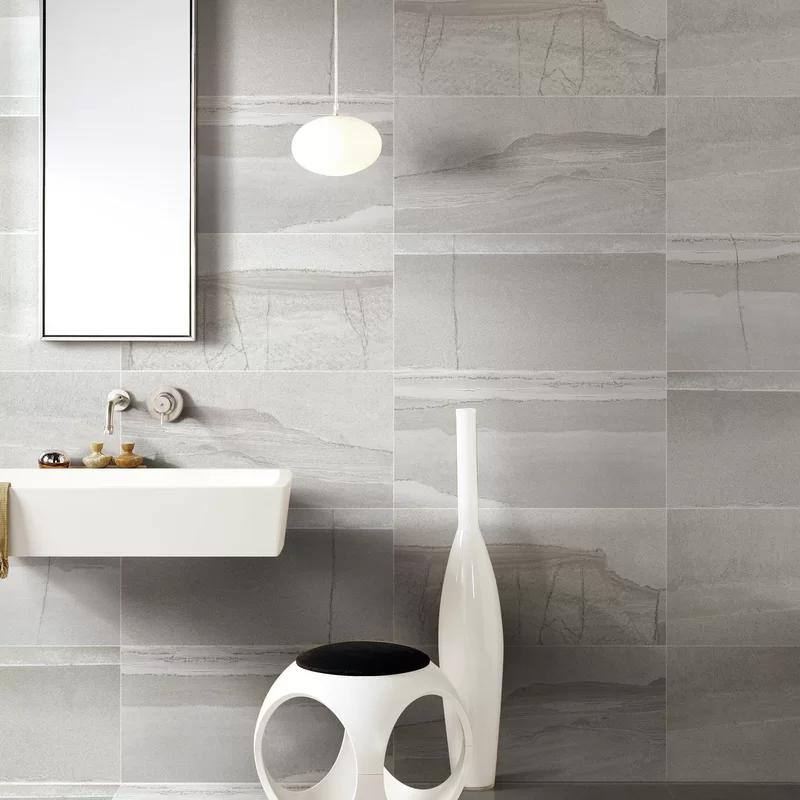 Madrid Ceramics Burlington 24 X 24 Porcelain Field Tile Wayfair In 2020 Bathroom Decor Wall And Floor Tiles Elegant Tiles