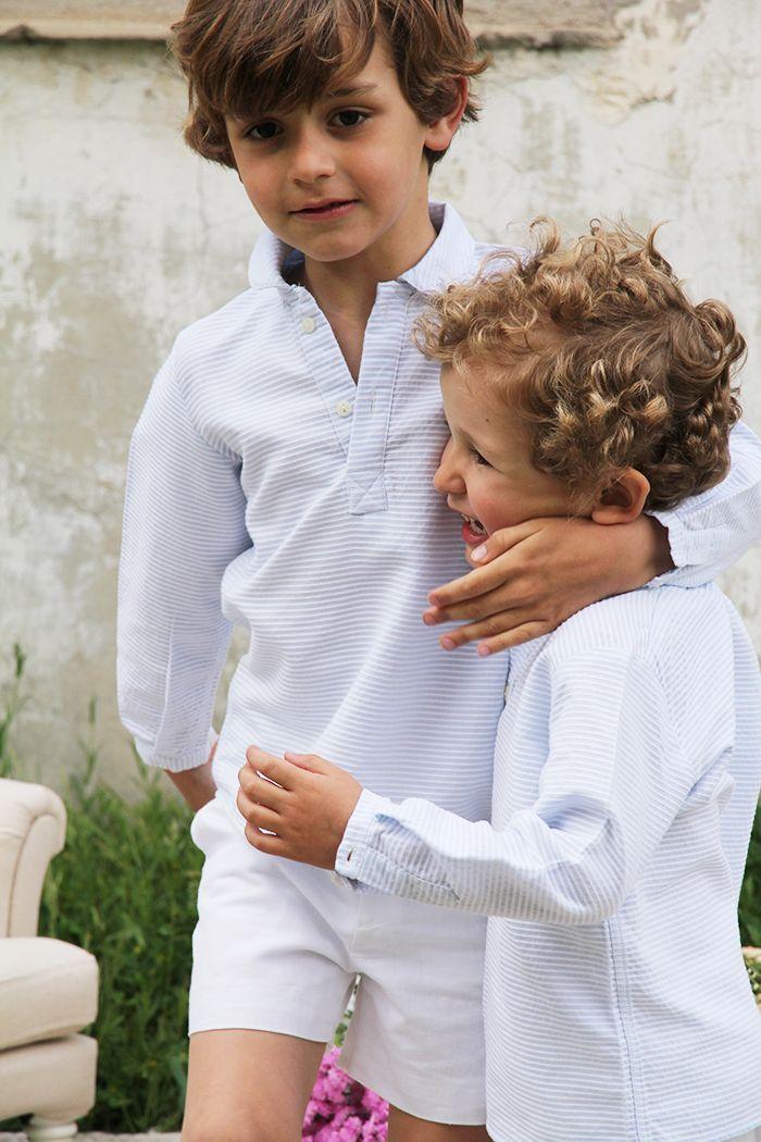 Moda infantil camisa ninos coleccion primavera verano 2015 - Moda nino 2015 ...