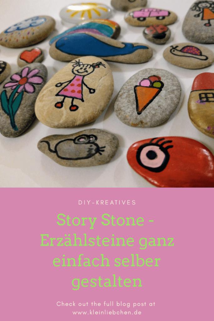 Story Stones - Erzählsteine selber machen mit Anleitung und Bildern #steinbilderselbermachen