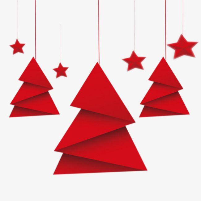 Doblar El Papel Rojo De Arbol De Navidad Origami Christmas Tree Origami Xmas Tree Paper Christmas Tree