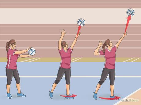 Image result for volleyball overhand serve