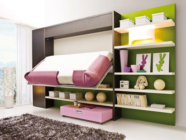 chambre d'ado lolli book collection lolli by clei | design giulio
