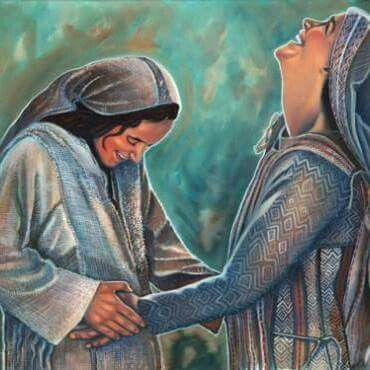 Mary & Elizabeth (Advent 4)