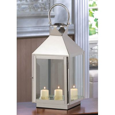 Pin By L On Decor Glass Candle Lantern Lantern Table