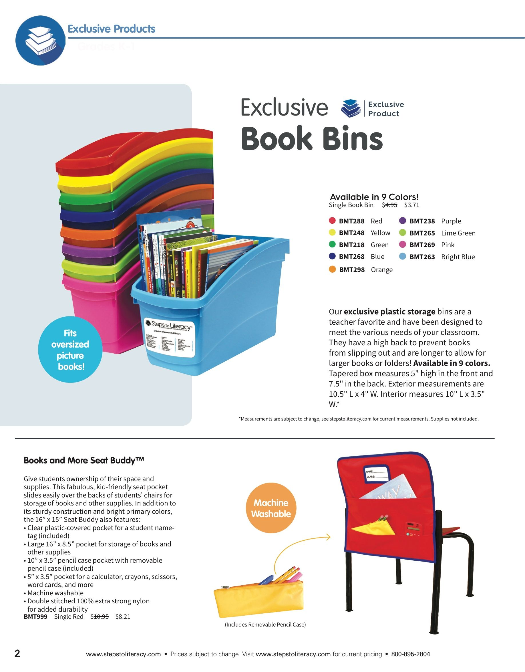 Hands down THE BEST Book Bins! from Steps to Literacy