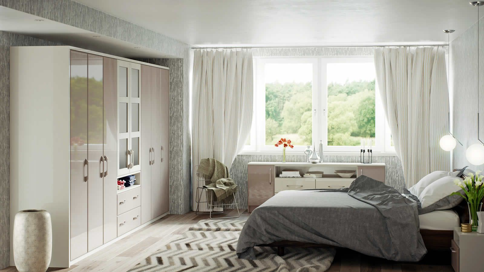 Simplicity fitted bedroom furniture from Integrity Bedrooms ...