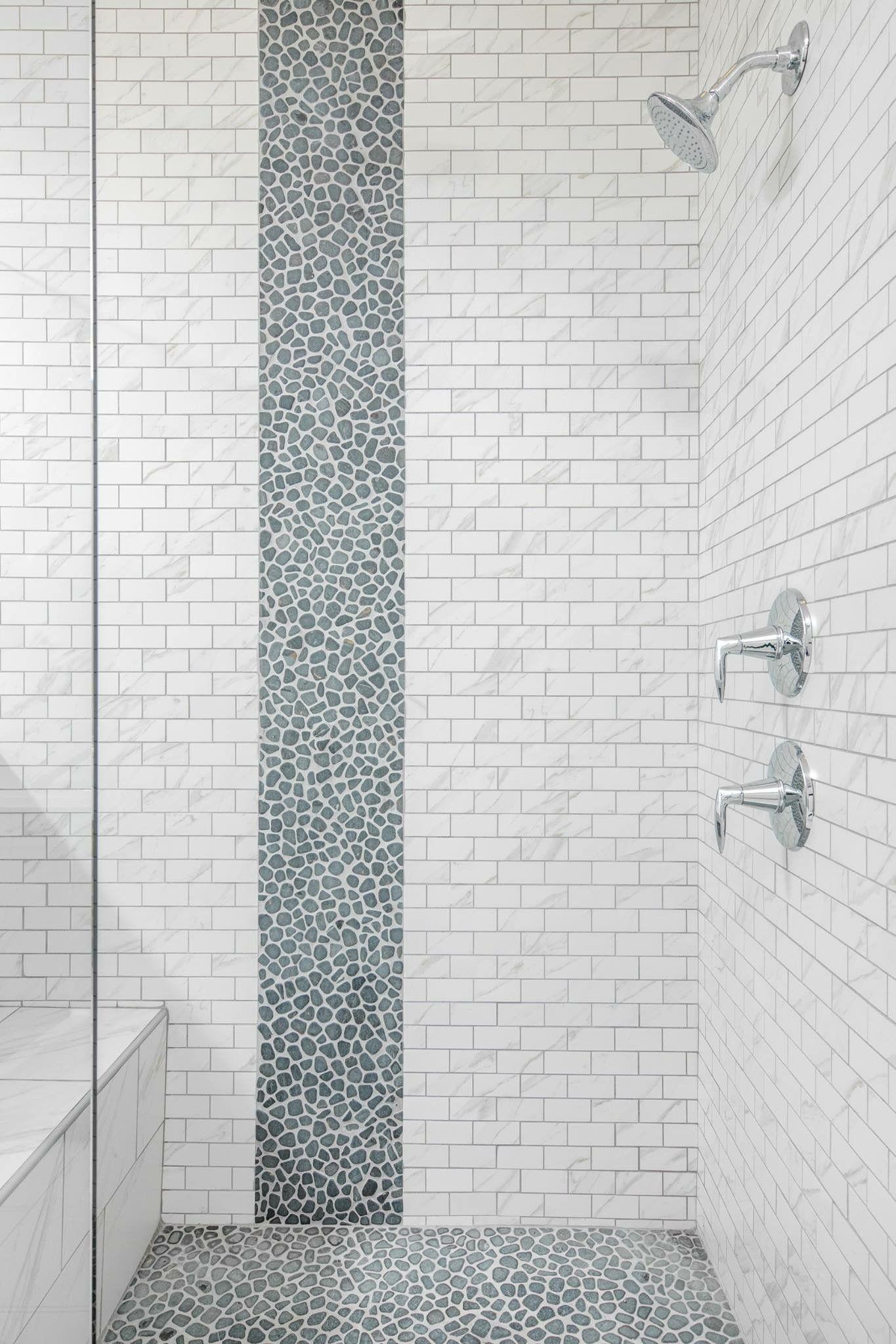 Waterfall Design In Shower Elegant Accents Tile Design Corner Shower Tile Shower Accent Tile Accent Tile Bathroom