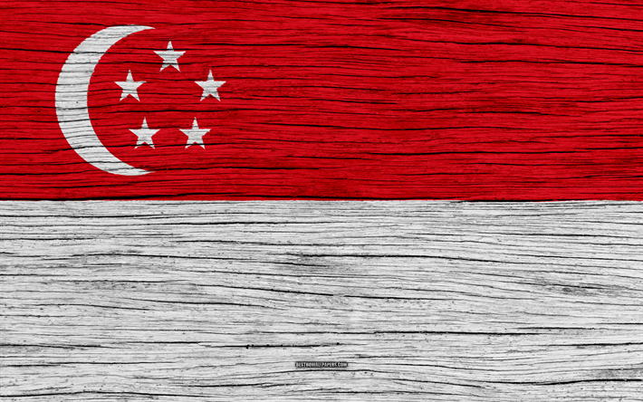 Download Wallpapers Flag Of Singapore 4k Asia Wooden Texture Singapore National Flag National Symbols Singapore Flag Art Singapore Besthqwallpapers Com Singapore Flag Flag Flag Art
