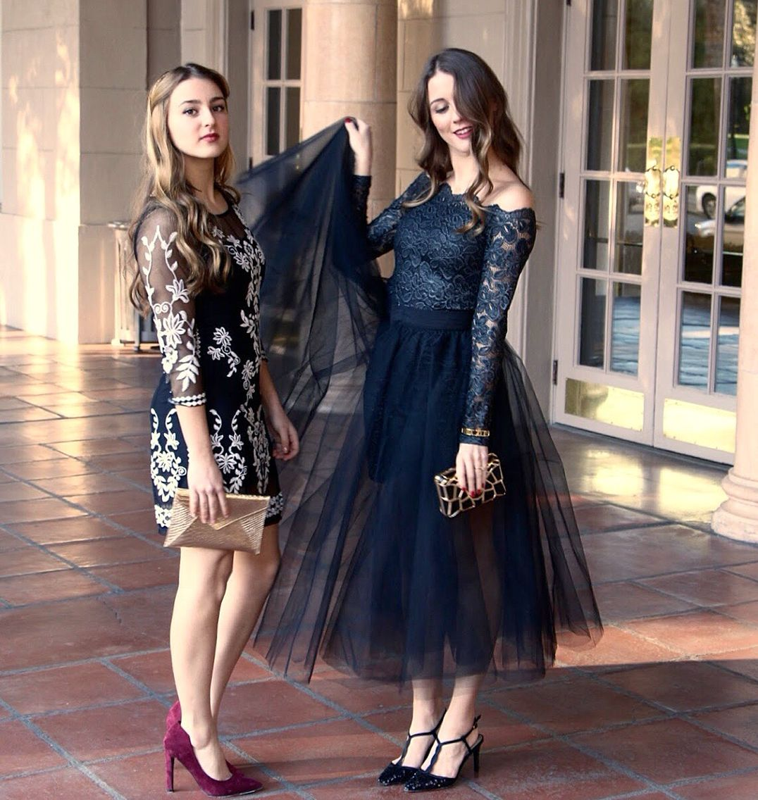 Blogger Street Style Nye Outfit Party Outfit Inspiration Tulle Skirt Lbd Black Dress Midi Skirt Space 46 T Tulle Dress Space 46 Tulle Skirt Party Outfit [ 1136 x 1076 Pixel ]