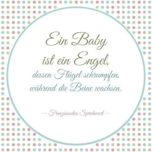 baby shower sprüche Zitate zur Geburt: