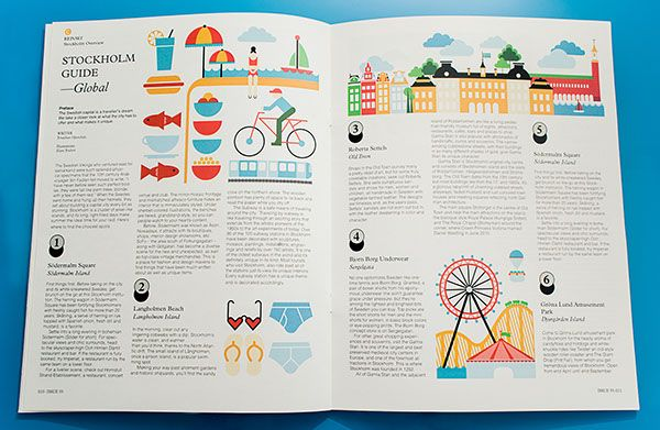 Monocle Magazine: Student layout project on Behance | Kids ...
