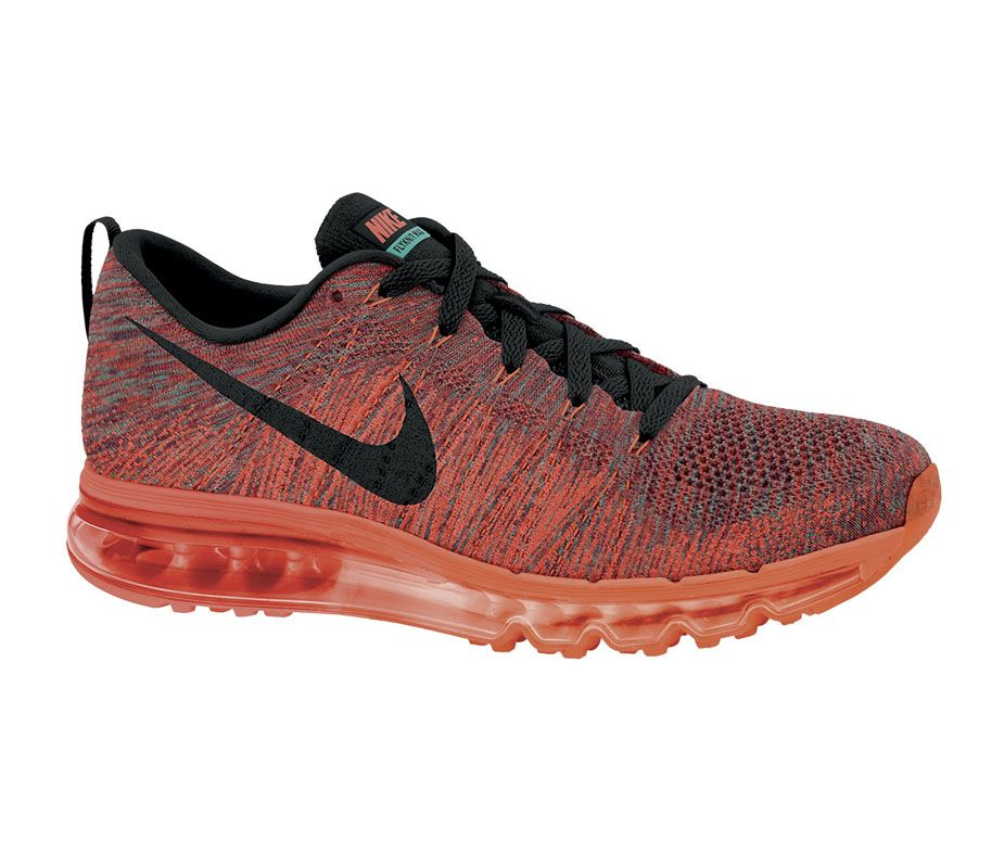 official photos fedc4 212a0 Nike Flyknit Max - Women s in Hyper Punch Black Bright Mango Hyper Jade