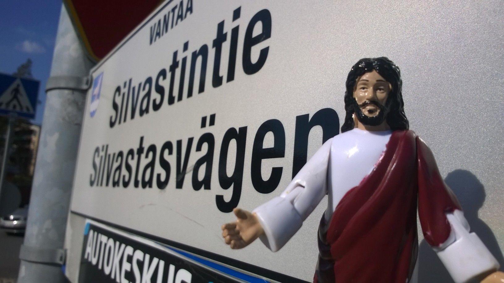 Jeesus Silvastintiellä Kirkkoherra