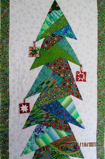 Wall Hanging Christmas Tree kaffe fassett christmas tree wall hangingshelley at waterwheel