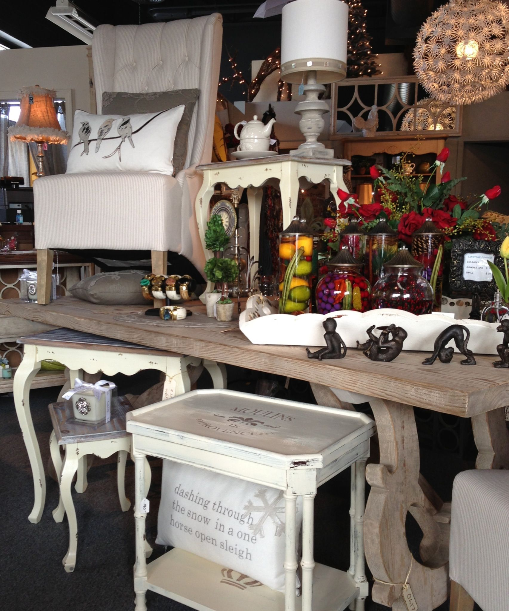 white wash dining room table home decor