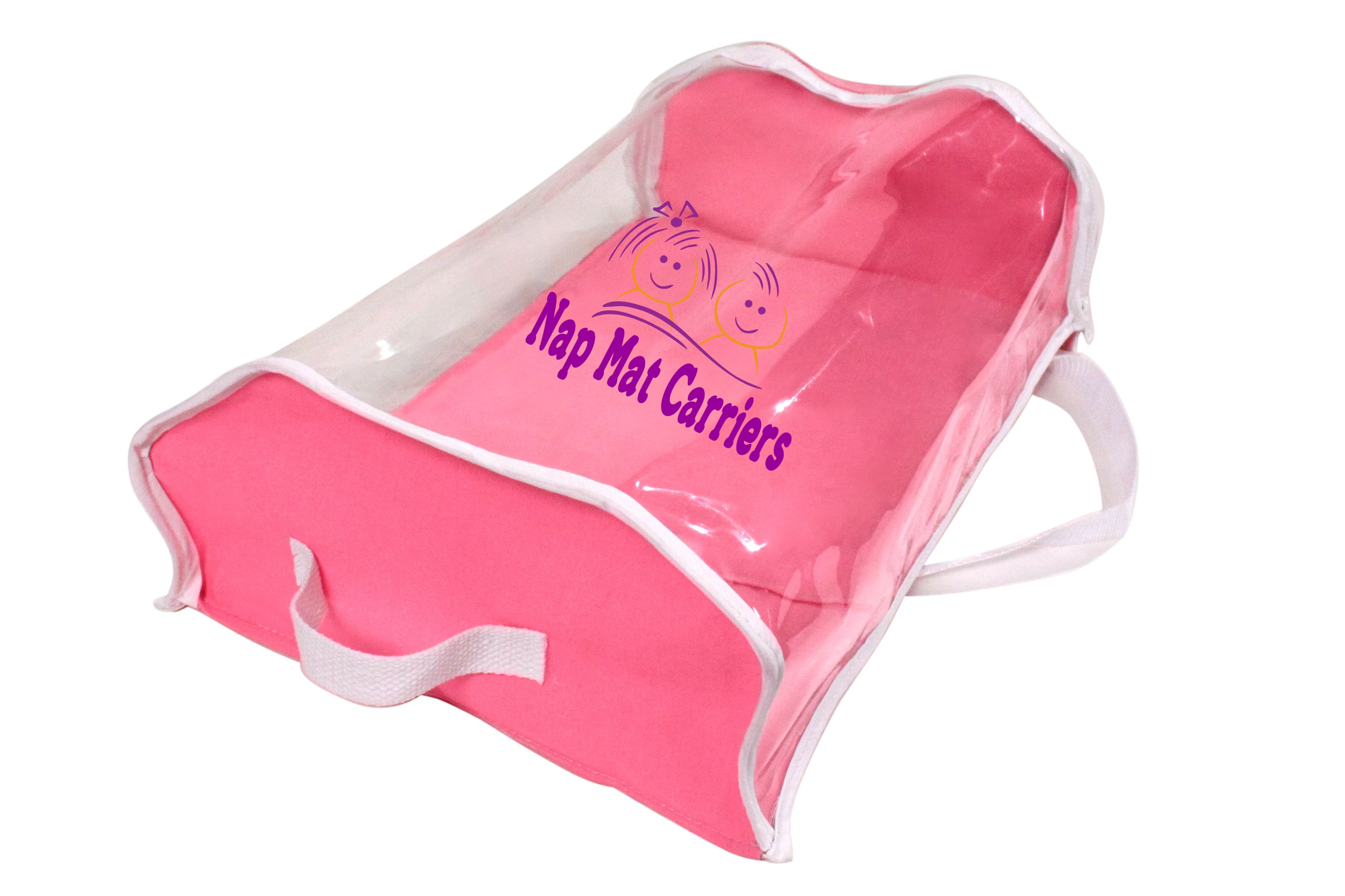 Pretty In Pick Nap Mat Carrier Bag Perfect For Vinyl And Cloth Nap Mats Www Napmatcarriers Com Mat Bag Nap Mat Bags