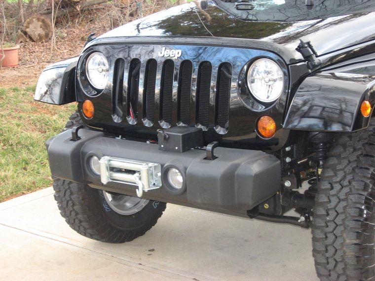 Winch Mount W Factory Bumper Page 7 Jeep Jk Jeep Jeep Wrangler Bumpers