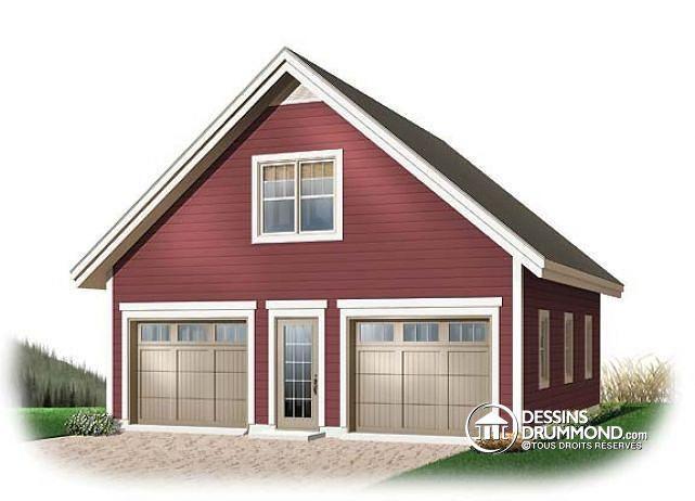 Decouvrez Le Plan 2987 Wisteria Qui Vous Plaira Son Style Champetre Garage Plans Detached Garage Plans With Loft Garage Plan