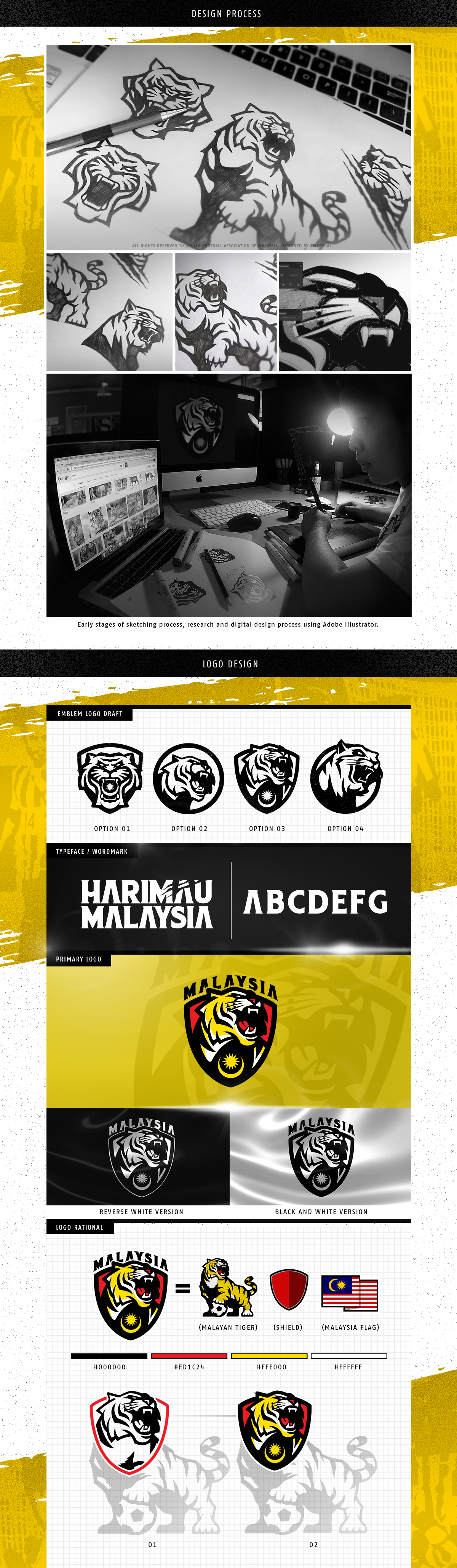 This is my recent logo design for Harimau Malaysia Logo