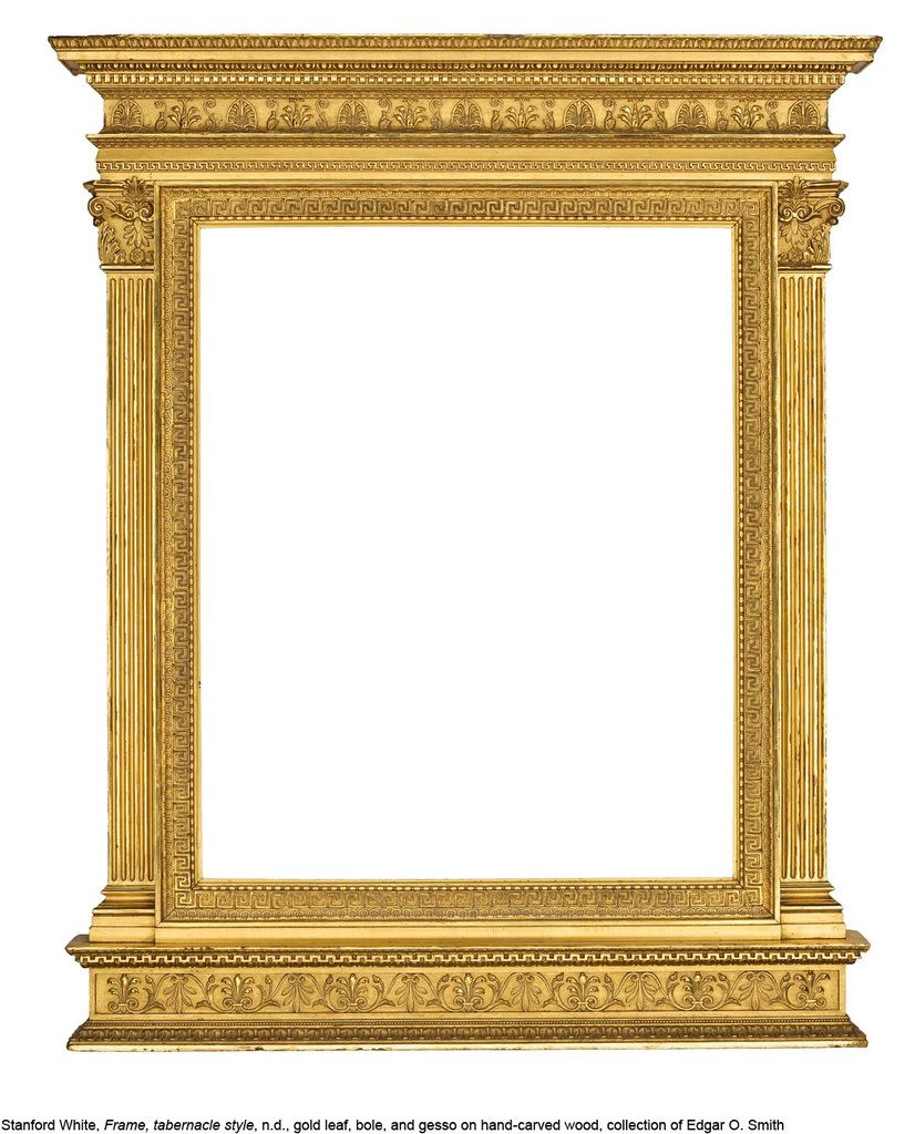 Stanford White Taberrnacle Frame. Courtesy of High Museum of Art ...