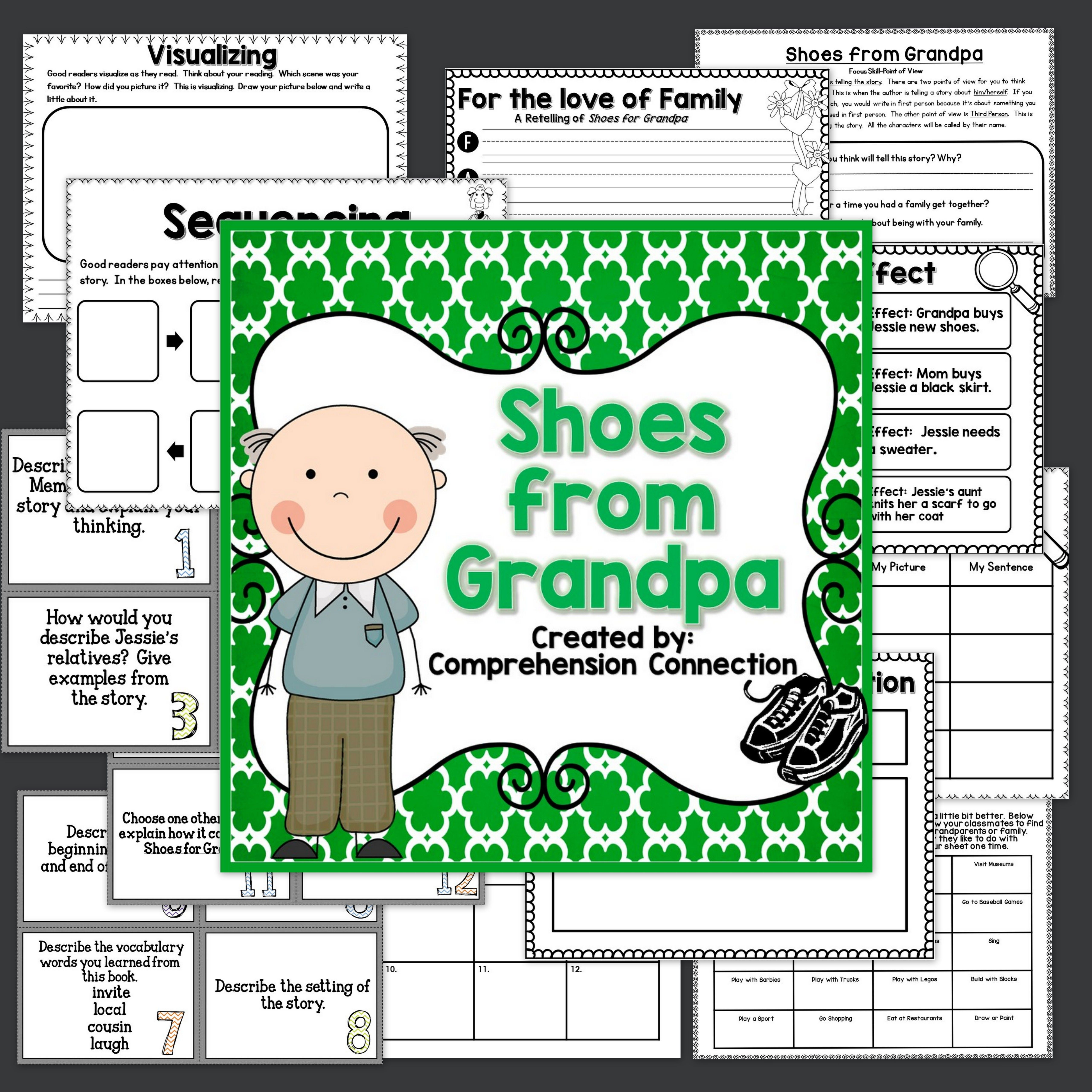 Shoes From Grandpa Activities In Digital And