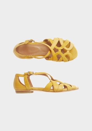 AGATHA SANDAL | TOAST | Shoes, Yellow sandals, Me too shoes