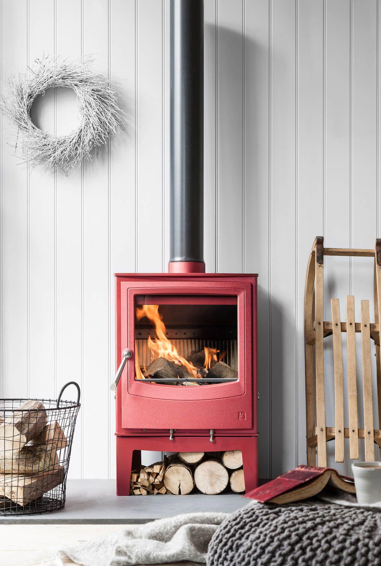 7 Festive Fireplace Styling Ideas Best Wood Burning Stove Wood