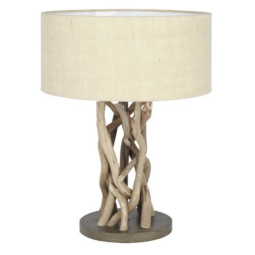 Found it at Wayfair.co.uk - Driftwood Table Lamp
