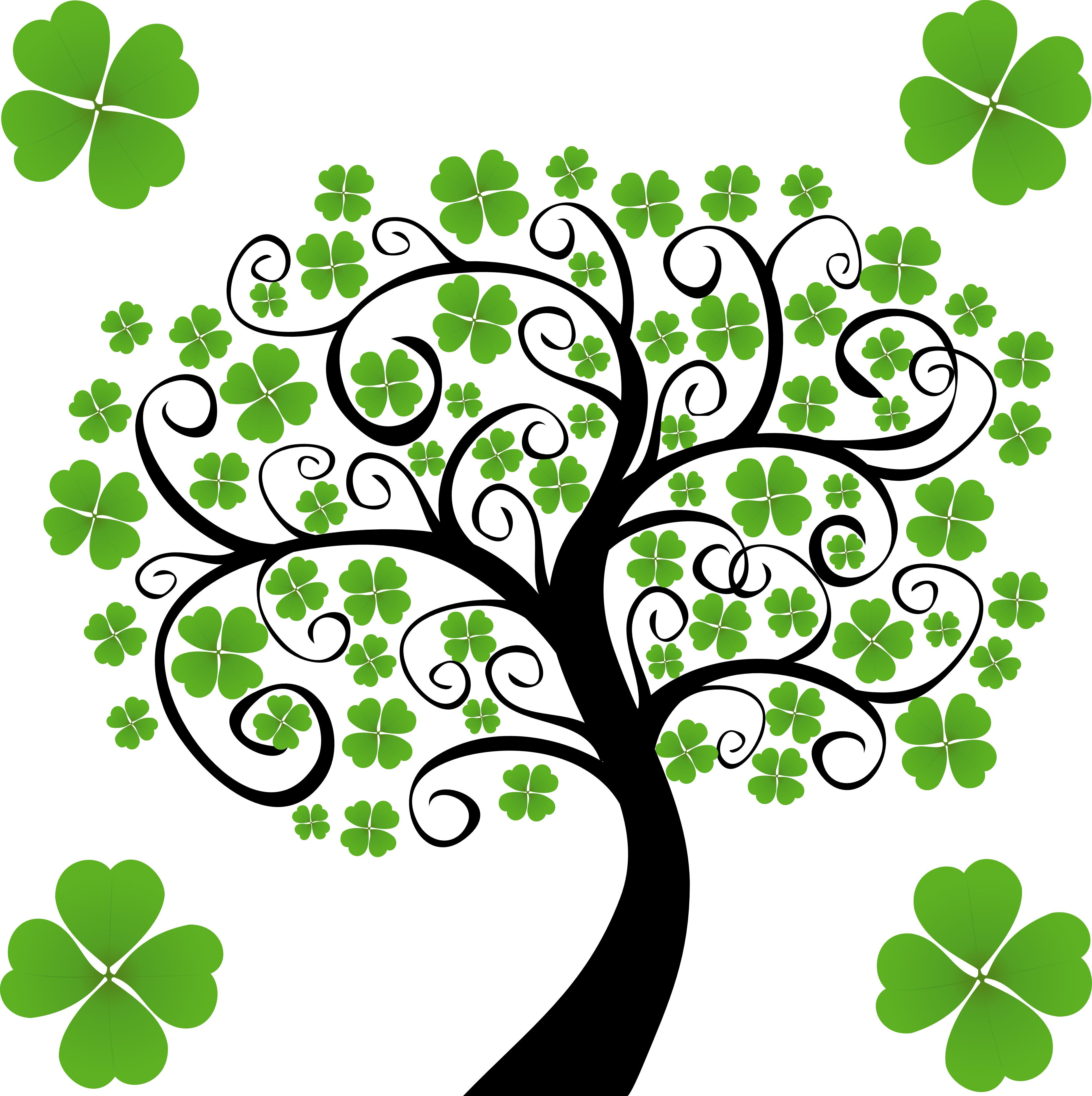 Clip Art Shamrocks St Patricks Day Clipart Shamrock Clipart Irish Tattoos