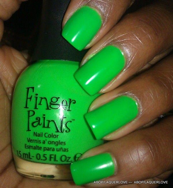 Fingerpaints - Silkscreen Green | My Polishes: Greens | Pinterest ...