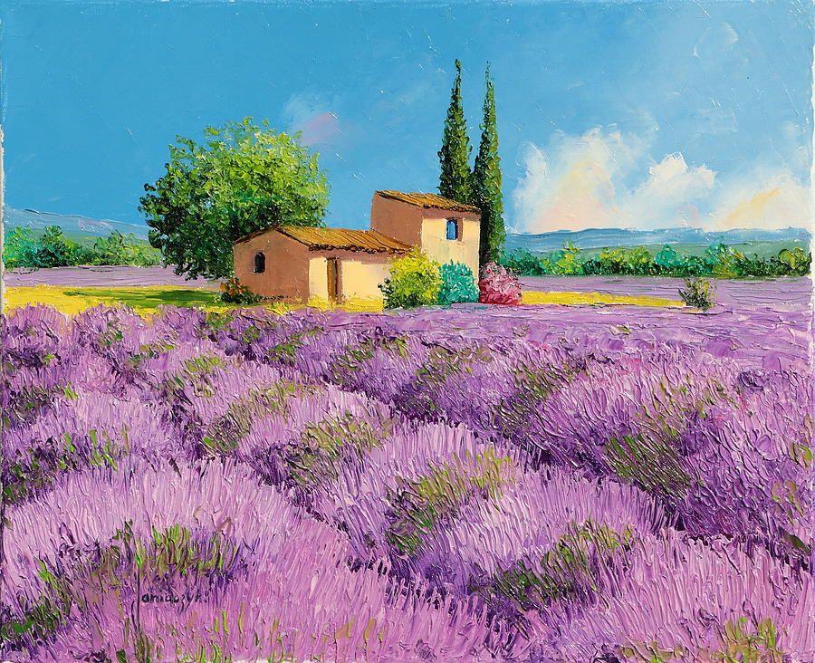 Lavender Fields In Provence By Jean Marc Janiaczyk Lavender Fields Photography Field Paint Lavender Fields
