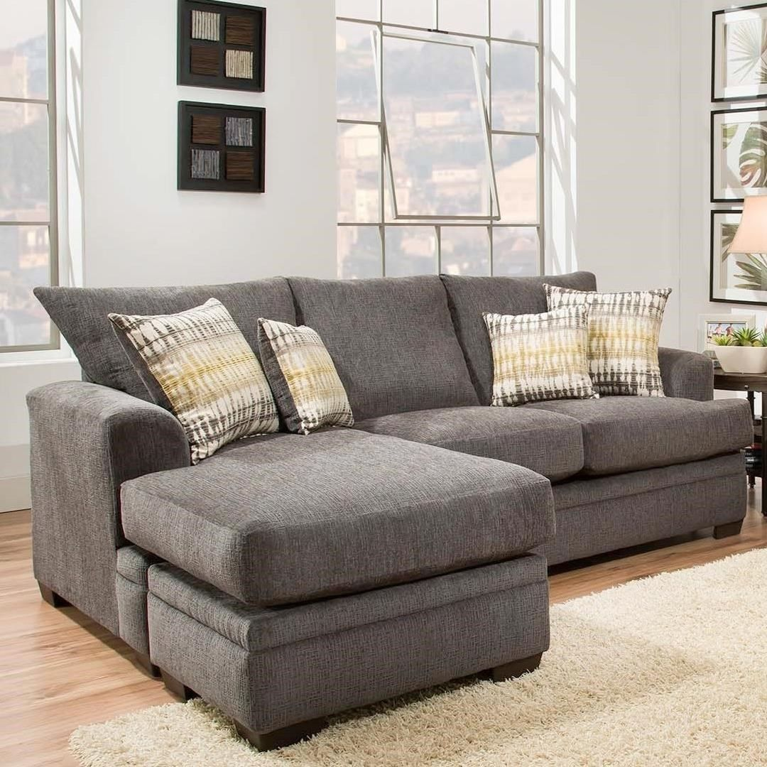 American Furniture Perth Smoke Sectional Sofa Sectional Sofa Furniture Mattress Furniture