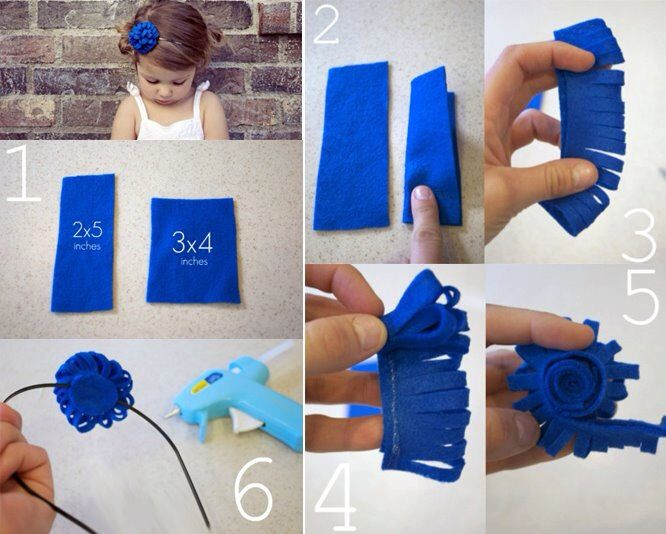 DIY baby head band