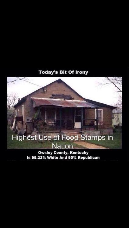 Highest Food Stamp Usage In America