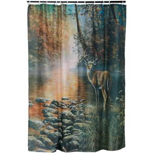 Home Deer Shower Curtain Shower Curtain Sets Curtains With Rings
