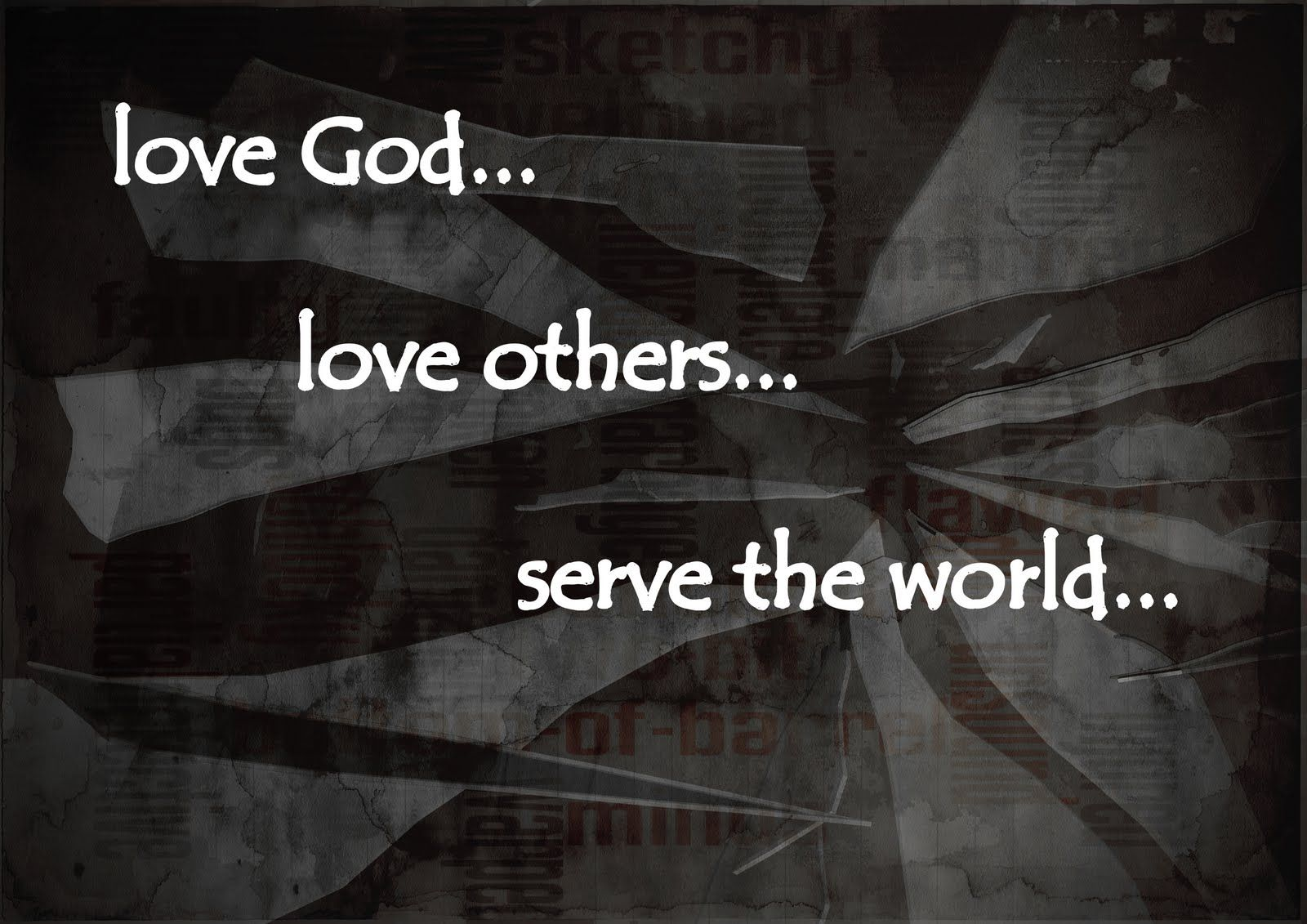 Pin On Daily Reflections God is love wallpaper black