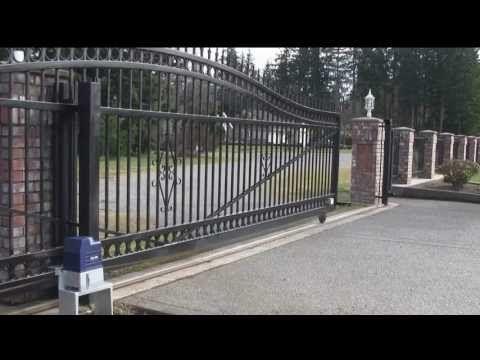 Automatic Sliding Gate By Max Entrance Automation Pvt Ltd Delhi Youtube Sliding Gate Automatic Sliding Gate Gate Openers