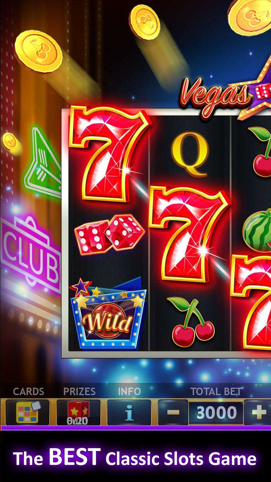 777 Classic Slots Galaxy CasinoGamesiosCard Slot
