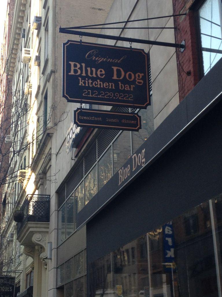 Blue dog 25th st 6th