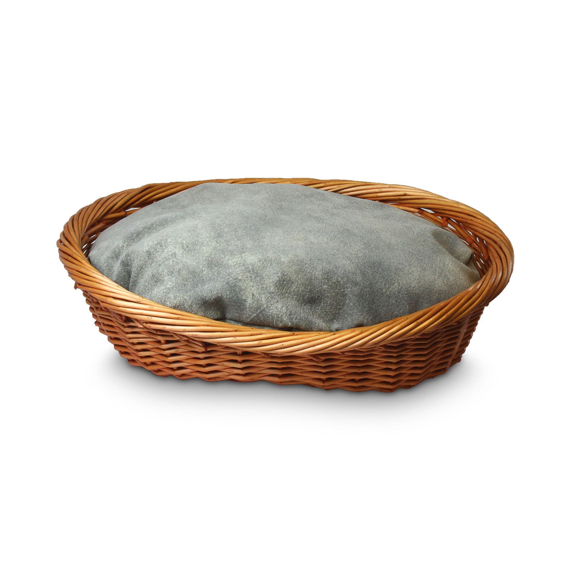 Luxury Wicker Dog Basket and Bed Dog bed, Wicker, Basket