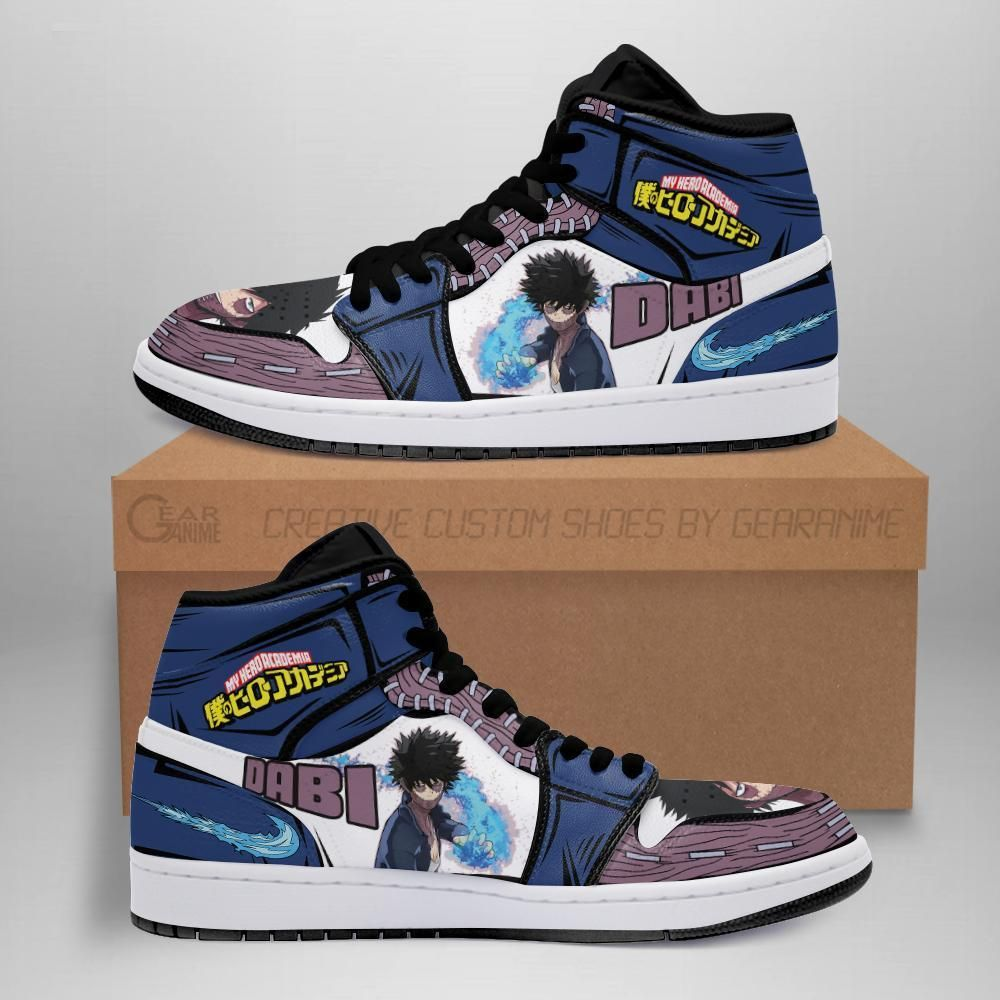 Dabi Shoes Boots Custom My Hero Academia Sneakers
