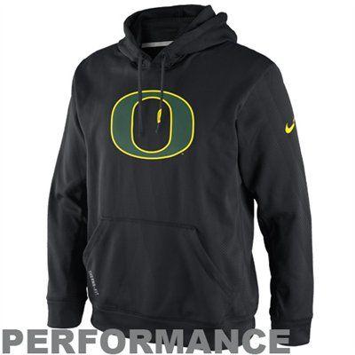 on sale 099a1 eec67 No. 5 - Nike Oregon Ducks KO Performance Hoodie - Black ...