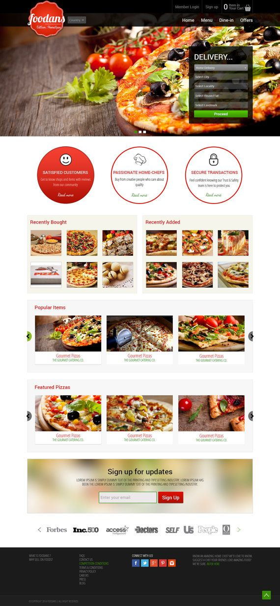 pizza order taking and delivery template online pizza delivery website wordpress web design. Black Bedroom Furniture Sets. Home Design Ideas