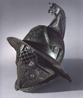 Roman Gladiator Helmet .1.