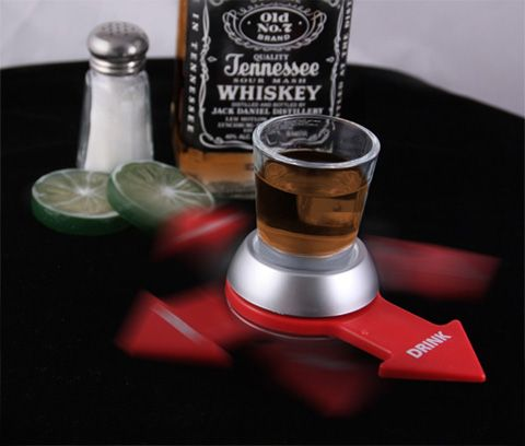 Spin The Shot - Spinning Shot Glass http://www.techthisone.com/spin-the-shot-glass-drinking-games/  #Drink #Alcohol #Techthisone #ShotGlass