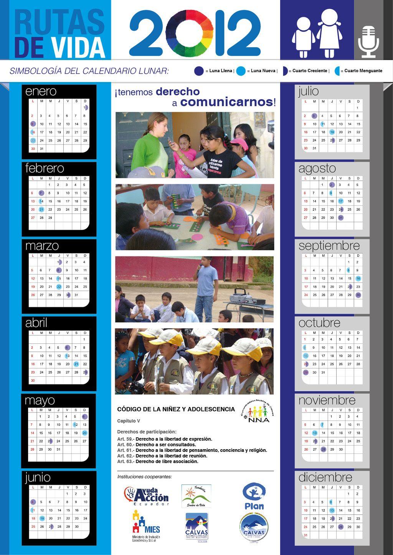 Editorial Design of a calendar